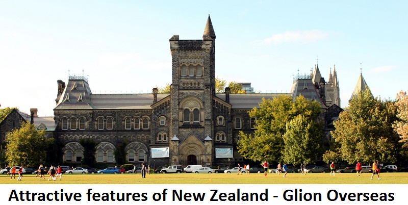 Attractive features for Study in New Zealand - Glion Overseas